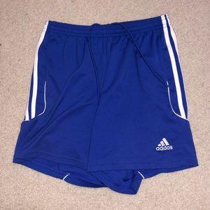 M Blue Adidas Shorts